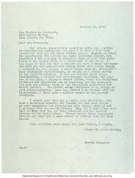 morris steggerda letter to charles davenport thanking him for
