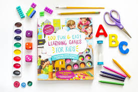 stringing letters learning game kids activities book where