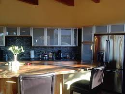 White Glass Kitchen Cabinet Doors by A Modern Feel The Glass Kitchen Cabinet Doors Glass Doors On These