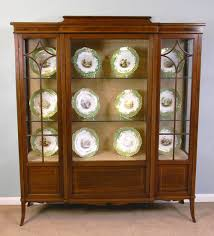 mahogany china cabinet furniture antique mahogany china display cabinet antiques atlas
