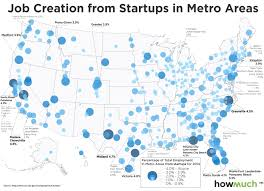Chicago United States Map by San Francisco Is Not The Queen Of Startup Land This Map Shows Why