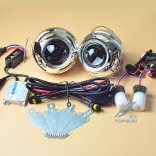 3 inch fog light kit auto light kit 3 inch bifocal koito q5 projector lens ballast hid