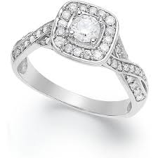 Macys Wedding Rings by 98 Best Sterling Silver Diamond Engagement Rings Images On