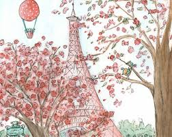 Shabby Chic Paris Decor by Coral Paris Nursery Etsy