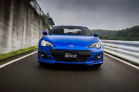subaru blue 2017 first drive 2017 subaru brz automobile magazine