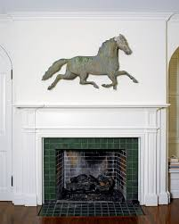 Horse Weathervane On Stand American Folk Art In A Classical Setting By Frances Mcqueeney