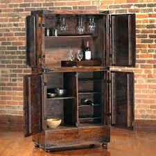 Metal Bar Cabinet Mini Fridge Cabinet Furniture Image For Bar Cabinet With