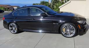 bmw car in black colour possibly the only f80 bmw m3 in individual ruby black in the usa