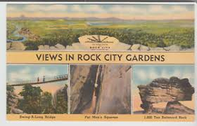 Rock City Gardens Tennessee Views In Rock City Gardens Lookout Mountain Tennessee Linen 4