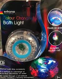 new kids toy enhance mood lighting colour changing bath light with