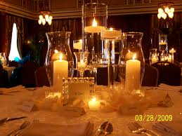 tall wedding centerpieces on a budget glasscandle centerpieces