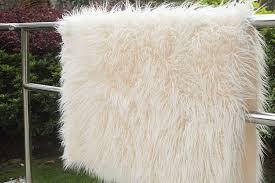 newborn photography props size 150 100cm faux fur blanket basket stuffer mongolia fur