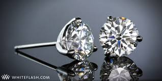 what size diamond earrings what a stud choosing a diamond setting for diamond stud earrings