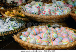 easter eggs for sale salzburg austria march 30 easter eggs stock photo 172984352
