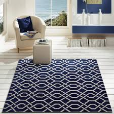 Modern Style Area Rugs 3 Set Modern Contemporary Navy Blue Bedroom Area Rug Rug