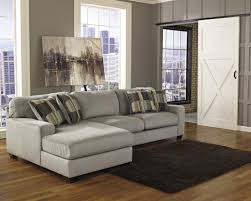 black patterned cushions l shaped grey velvet sectional sofa and patterned cushions added by
