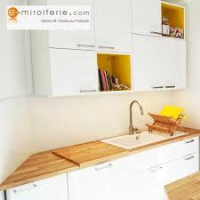 crédences de cuisine en verre laqué sur mesures crédence de cuisine en verre laqué blanc sur mesure