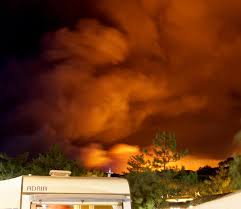 Wildfire Castle Rock Co by French Riviera Tourists U0027 Horror As Fierce Fire Rips Through South