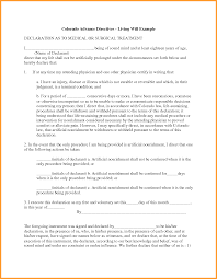 Ohio Durable Power Of Attorney Form by 8 Power Of Attorney Form Colorado Week Notice Letter