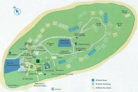 fiji resort map map of the island from photo gallery for treasure island resort