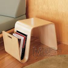 curved wood side table modern warehouse mag table curved wooden coffee table side a few