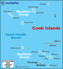where is cook islands located on the world map cook islands map geography of the cook islands map of the cook