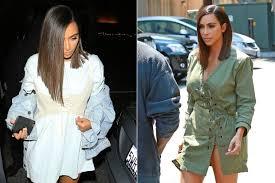 the bromans haircut kim kardashian debuts short sleek haircut celebuzz