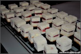chocolate covered cream cheese pound cake petit fours with