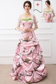pink camo wedding gowns shop 2017 gown pink camo wedding dresses sleeveless