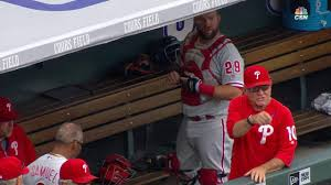 phillies overcome bad breaks to beat rockies mlb com