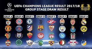 Jadwal Liga Chion Jadwal Liga Chions 2017 2018 Infodewabola