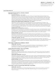 Resume For Assistant Principal Adorable Sample Leasing Consultant Resume With Leasing Agent Job