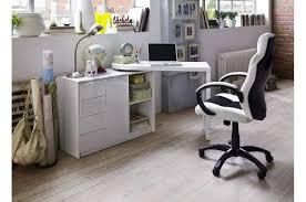 bureau ordinateur blanc laqué bureau blanc laqué table pc pivotante trendymobilier com