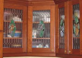 Glass Inserts For Kitchen Cabinets by Kitchen Cabinets With Glass Inserts Stained Glass Kitchen