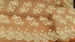 gold lace ribbon gorgous gold lace fabric for wedding veil gown lace ribbon trim