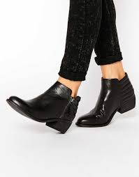 womens leather ankle boots sale 2016 shoes dune penelope croc effect leather flat ankle