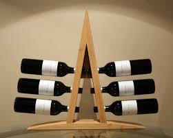 creative and classy tabletop wine rack u2014 home design ideas