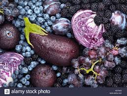 purple and blue fruits and vegetables stock photo royalty free