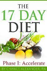 17 day diet food list for cycle 1 cycle 2 cycle 3 cycle 4
