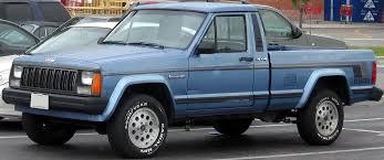 are jeeps considered trucks jeep comanche