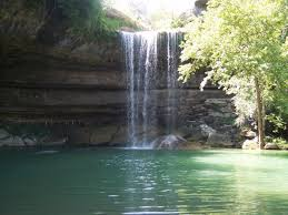 Texas waterfalls images Looking for a texas size waterfall grotto swimming hole close jpg