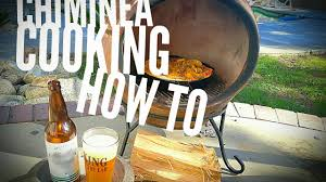 Cooking On A Chiminea Chiminea Cooking How To Youtube