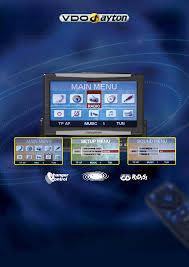 vdo dayton stereo system rm 8204 user guide manualsonline com