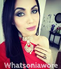 don u0027t match your makeup to your red dress whatsoniawore