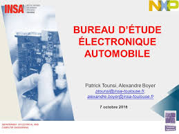 bureau etude electronique departement of electrical and computer engineering bureau d étude