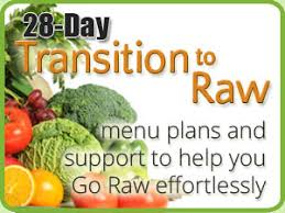 a 100 raw transition to a raw food diet
