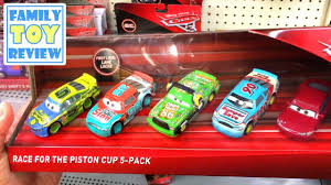 disney cars 3 toys hunt race for the piston cup u0026 thunder hollow 5