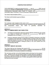 free contractor forms templates 9 best contractor forms images on