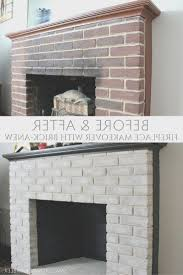 fireplace simple how to cover old brick fireplace beautiful home