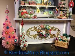 kendra u0027s minis christmas market stall finished